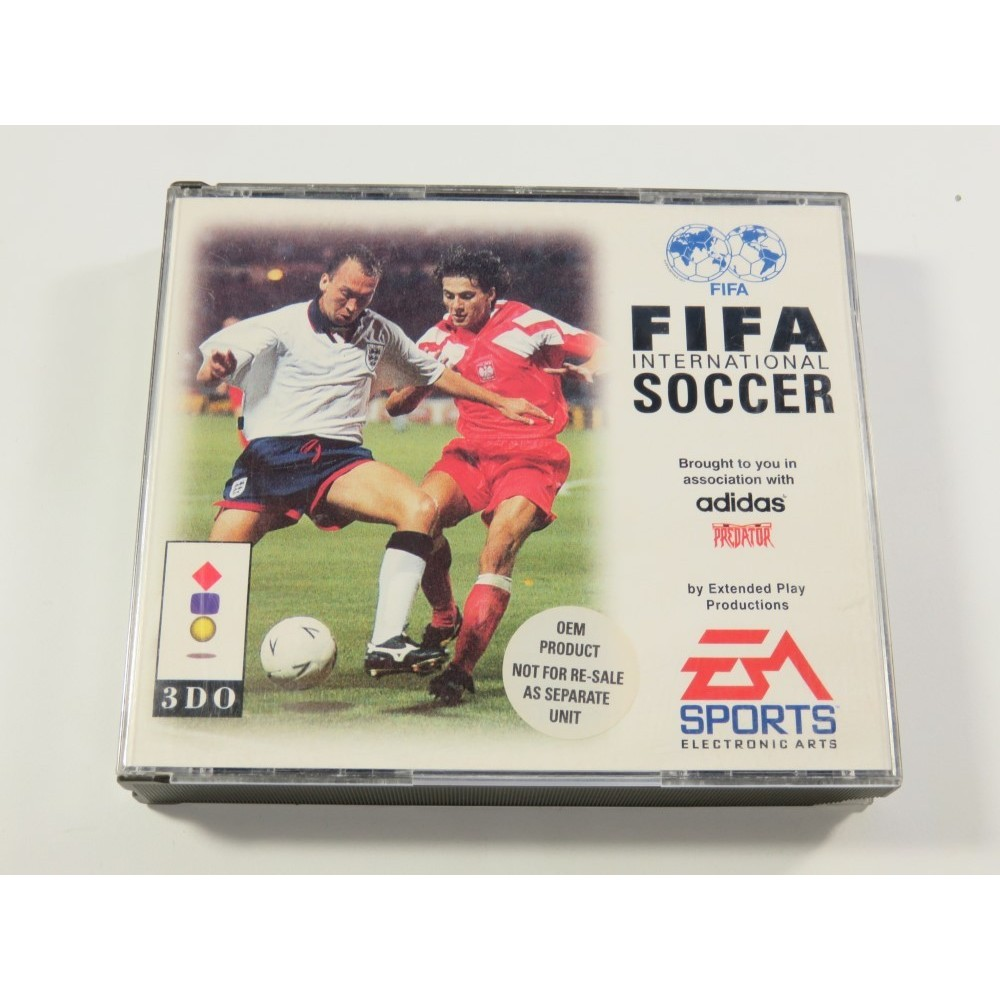 FIFA INTERNATIONAL SOCCER PANASONIC 3DO PAL-EURO (SANS NOTICE - GOOD CONDITION)