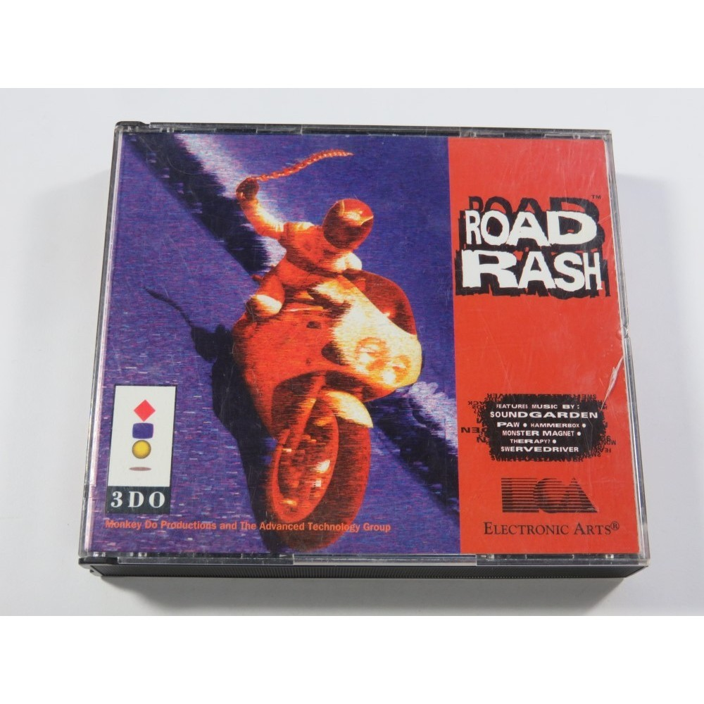 ROAD RASH PANASONIC PAL-EURO (SANS NOTICE - GOOD CONDITION)