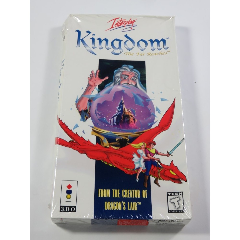 KINGDOM - THE FAR REACHES PANASONIC 3DO NTSC-USA NEUF - BRAND NEW (DRAGON S LAIR LIKE)