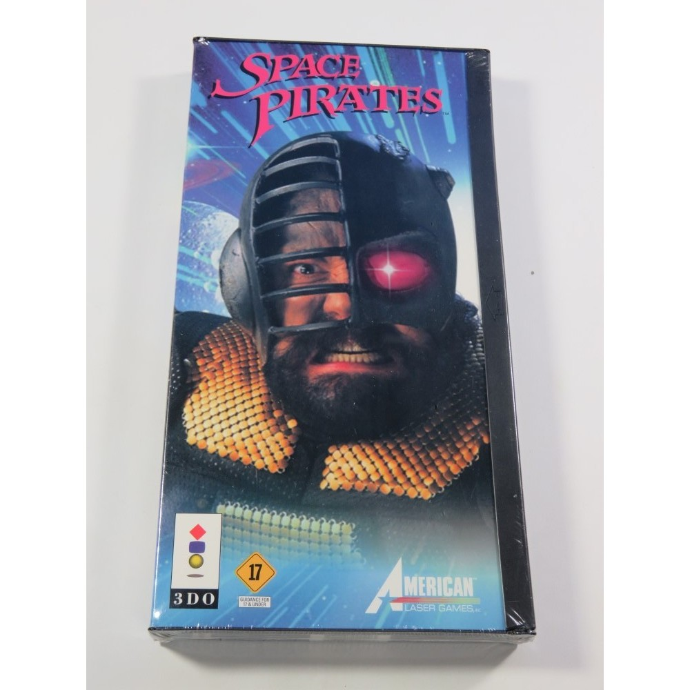 SPACE PIRATES PANASONIC 3DO PAL-UK NEUF - BRAND NEW (OFFICIAL BLISTER)