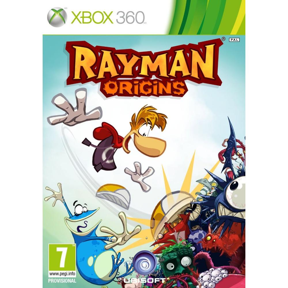 RAYMAN ORIGINS CLASSICS XBOX 360 PAL-FR OCCASION