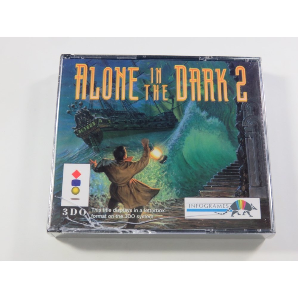 ALONE IN THE DARK 2 PANASONIC 3DO PAL-FR NEUF - BRAND NEW (OFFICIAL BLISTER - PRIX ETAT)