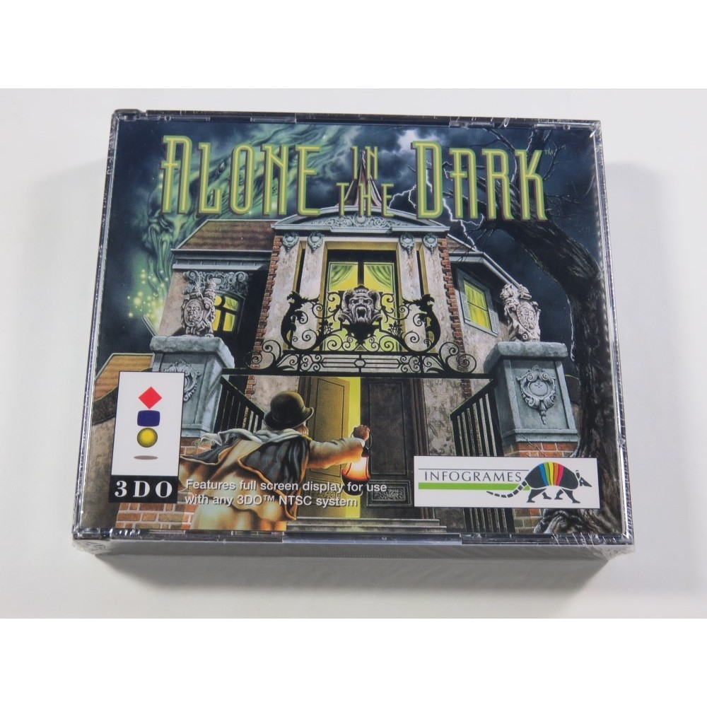 ALONE IN THE DARK PANASONIC 3DO PAL-EURO NEUF - BRAND NEW (SURVIVAL HORROR - LOVECRAFT LIKE)