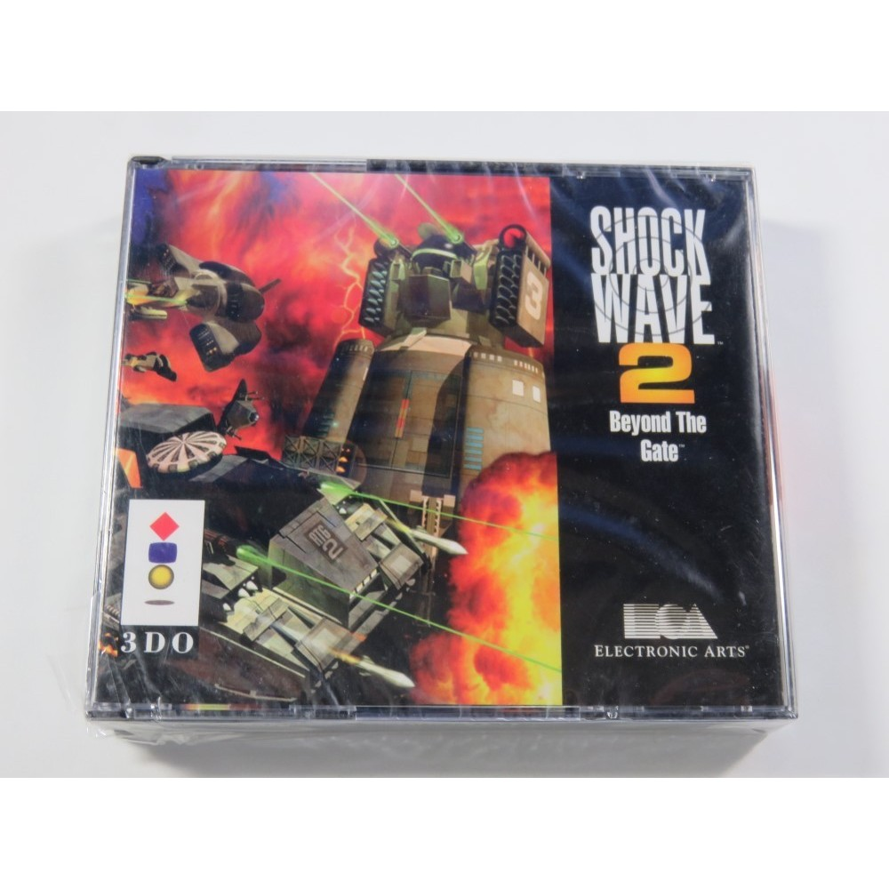 SHOCK WAVE 2 - BEYOND THE GATE PANASONIC 3DO PAL-EURO NEUF - BRAND NEW (OFFICIAL BLISTER)