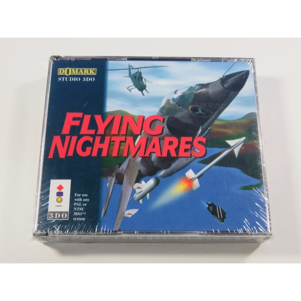 FLYING NIGHTMARES PANASONIC 3DO PAL-EURO NEUF - BRAND NEW (OFFICIAL BLISTER)