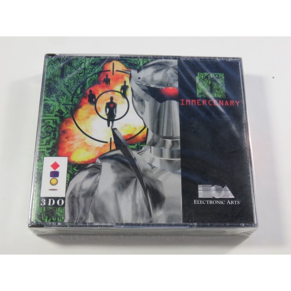 IMMERCENARY PANASONIC 3DO PAL-EURO NEUF - BRAND NEW (OFFICIAL BLISTER - ROLEPLAYING SHOOTER)