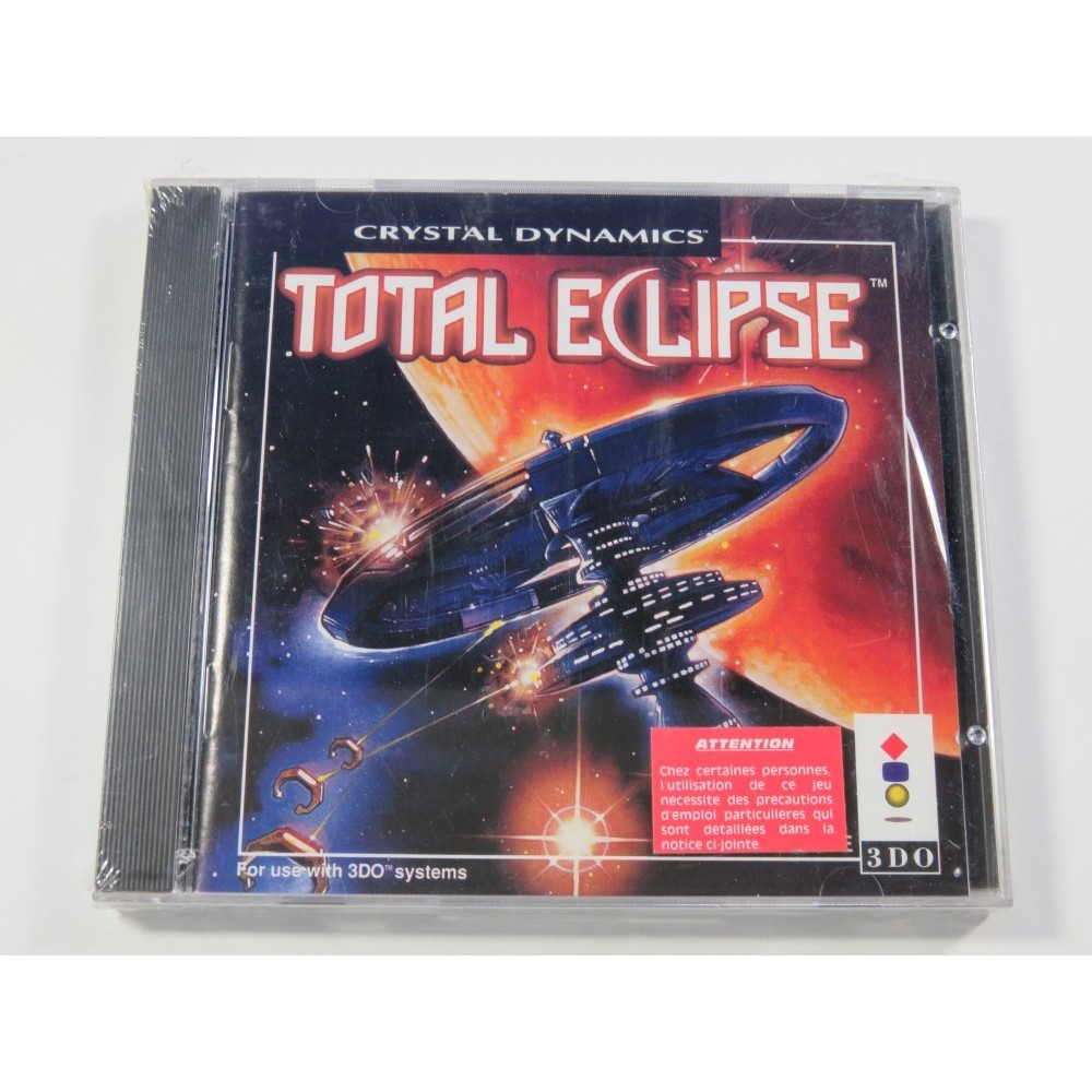TOTAL ECLIPSE PANASONIC 3DO PAL-EURO NEUF - BRAND NEW