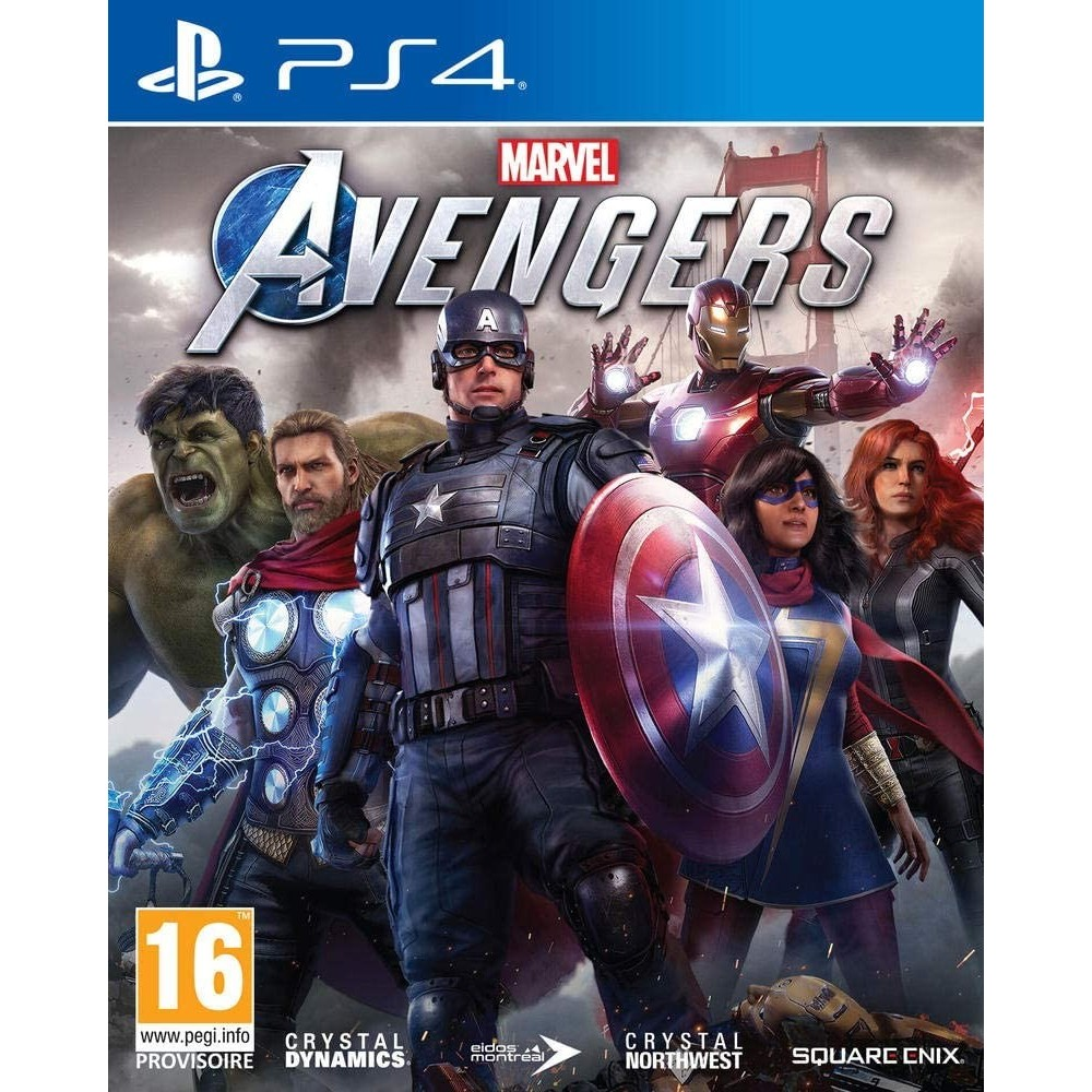 MARVEL S AVENGERS PS4 FR (MULTI-LANGUAGE) OCCASION