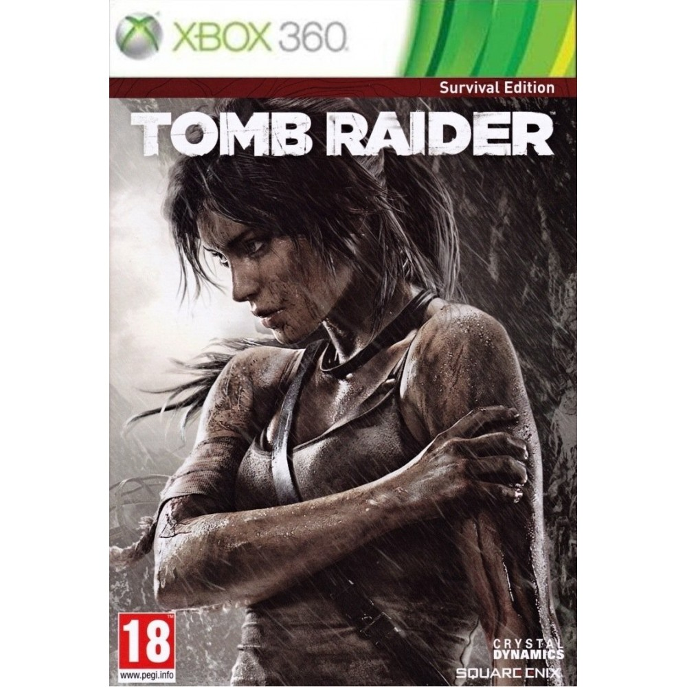 TOMB RAIDER SURVIVAL EDITION XBOX 360 PAL-FR OCCASION