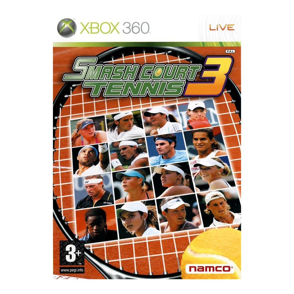 SMASH COURT TENNIS 3 XBOX PAL-EURO OCCASION