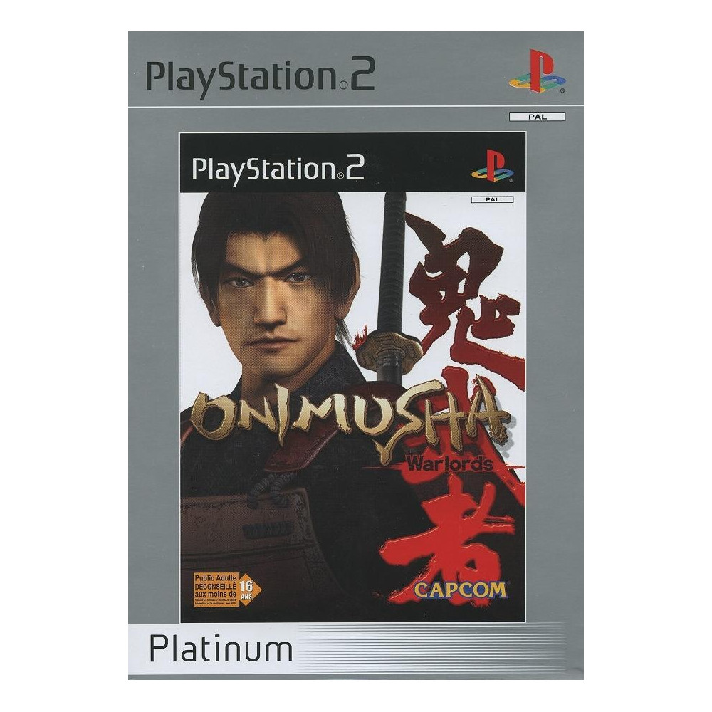 ONIMUSHA WARLORDS PLATINUM PS2 PAL-FR OCCASION