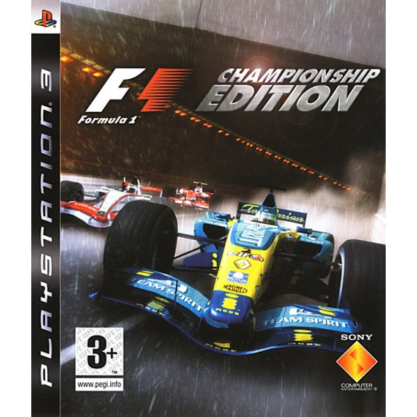 FORMULA ONE CHAMPIONSHIP EDITION PS3 FR OCCASION