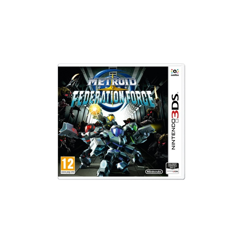 METROID PRIME FEDERATION FORCE 3DS PAL-FR NEW