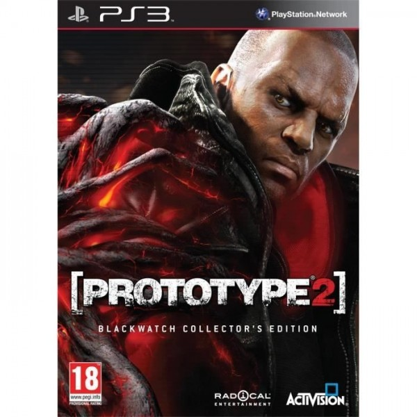 PROTOTYPE 2 EDITION COLLECTOR BLACKWATCH PS3 PAL-FR OCCASION