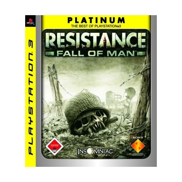 RESISTANCE FALL OF MAN PLATINUM PS3 FR OCCASION