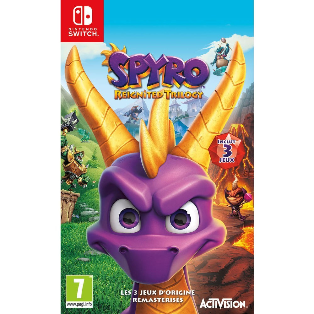 SPYRO REIGNITED TRILOGY SWITCH UK OCCASION