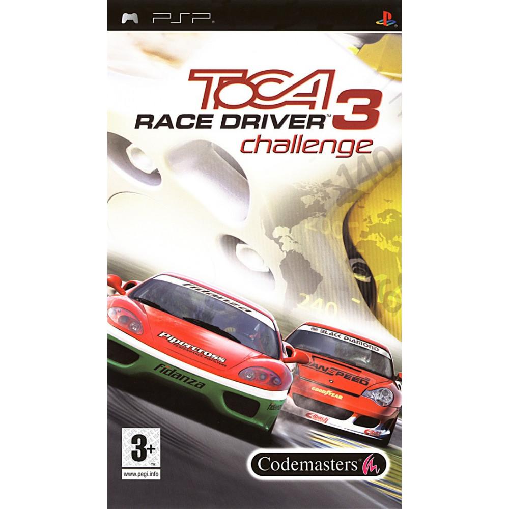 TOCA RACE DRIVER 3 CHALLENGE PSP FR OCCASION