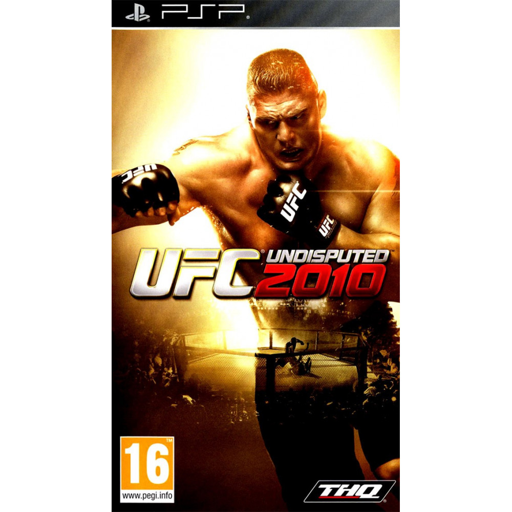 UFC UNDISPUTED 2010 PSP FR OCCASION