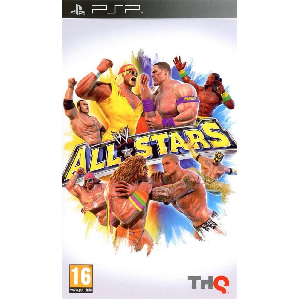 WWE ALL STARS PSP FR OCCASION