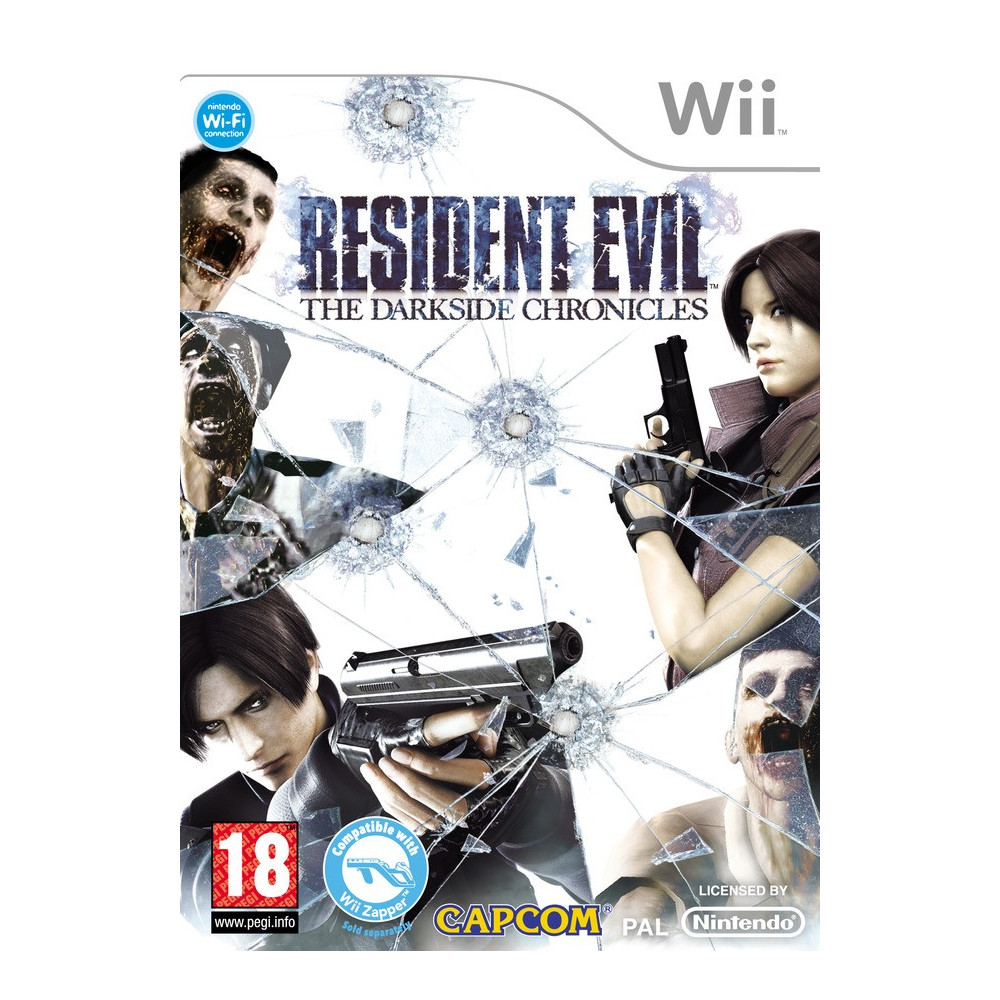 RESIDENT EVIL THE UMBRELLA CHRONICLES WII PAL-FR OCCASION