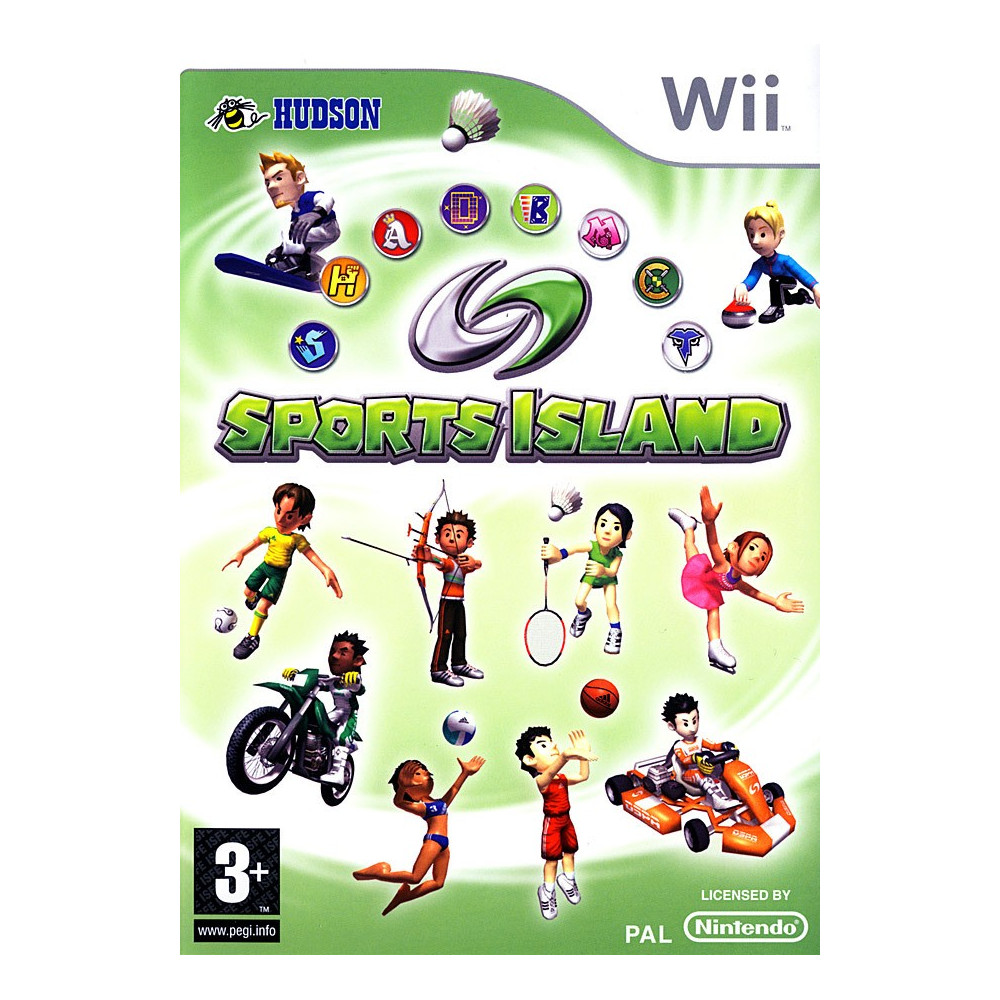 SPORTS ISLAND WII PAL-FRA OCCASION