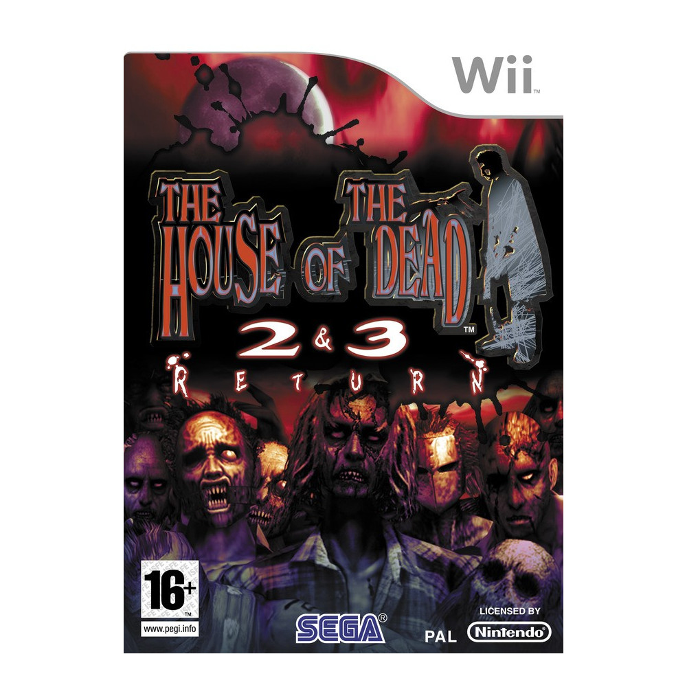 THE HOUSE OF THE DEAD 2 & 3 RETURN WII PAL-FR OCCASION
