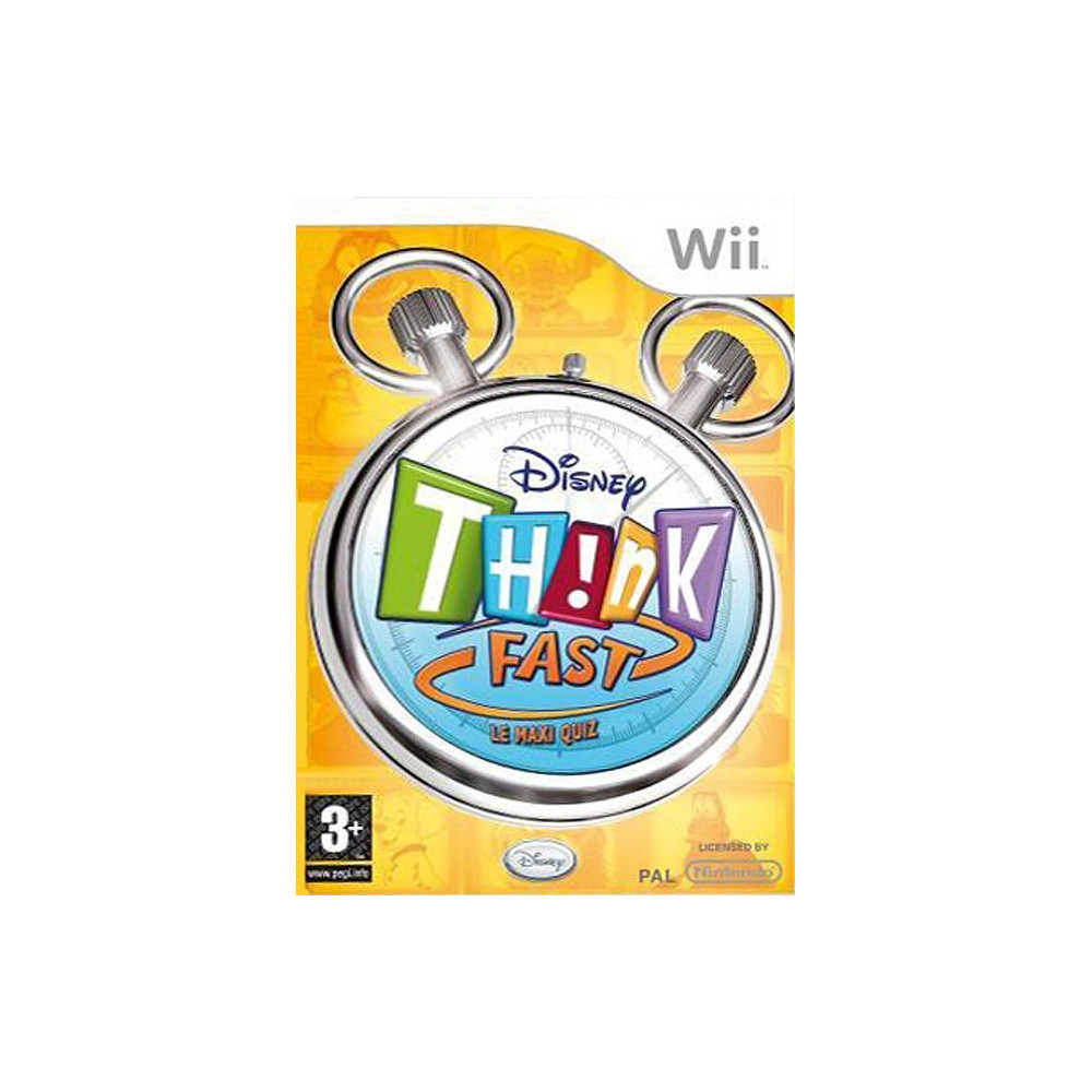 THINK FAST: MAXI QUIZZ WII PAL-FR OCCASION