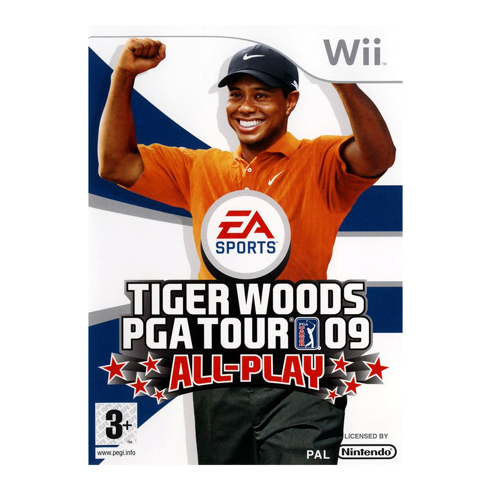 TIGER WOODS PGA TOUR 09 ALL-PLAY WII PAL-FR OCCASION