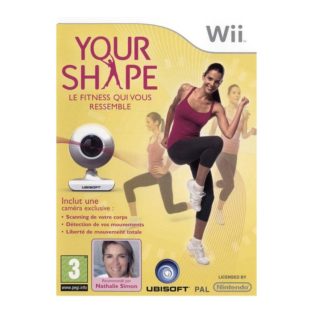 YOUR SHAPE + CAMERA WII PAL-FR OCCASION