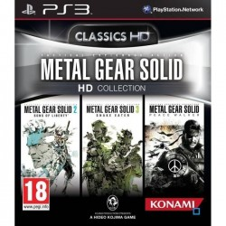 METAL GEAR SOLID CLASSICS HD COLLECTION PS3 UK OCCASION(JEU EN FRANCAIS)