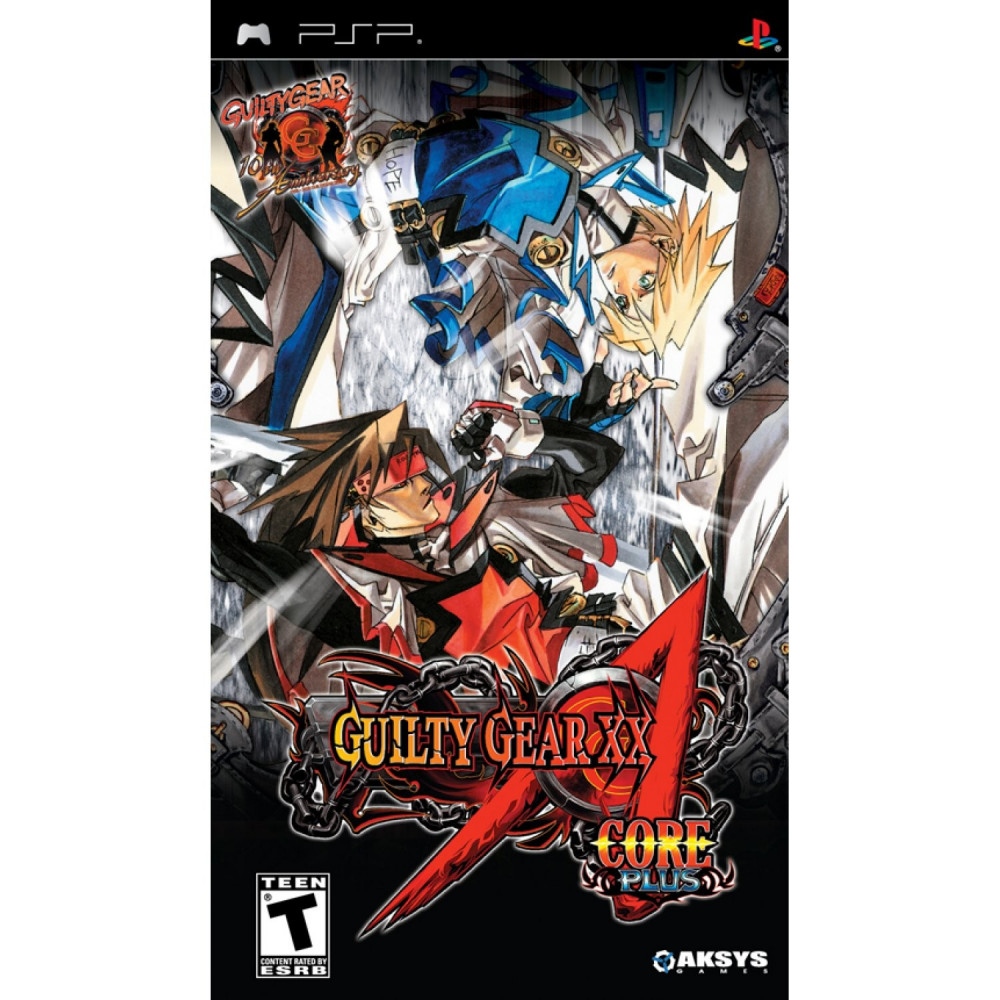 GUILTY GEAR XX ACCENT CORE PLUS PSP USA OCCASION
