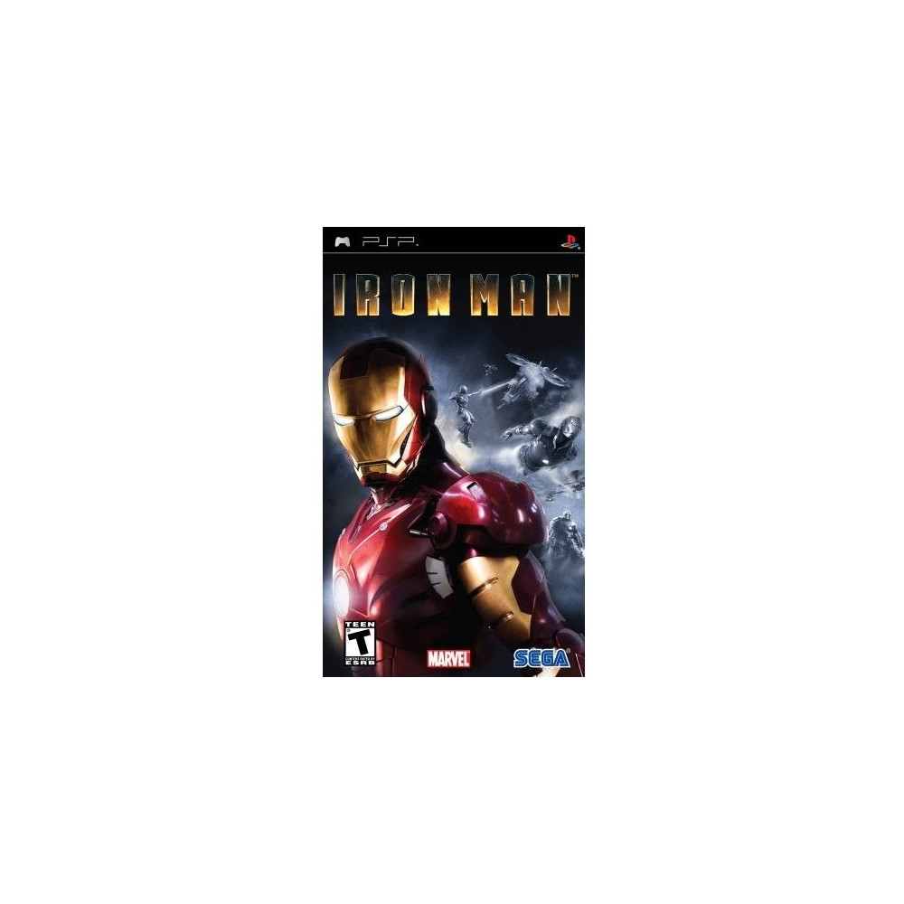 IRON MAN PSP USA OCCASION