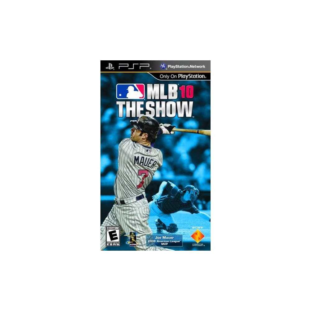 MAJOR LEAGUE BASEBALL MLB 10 THE SHOW PSP USA OCCASION
