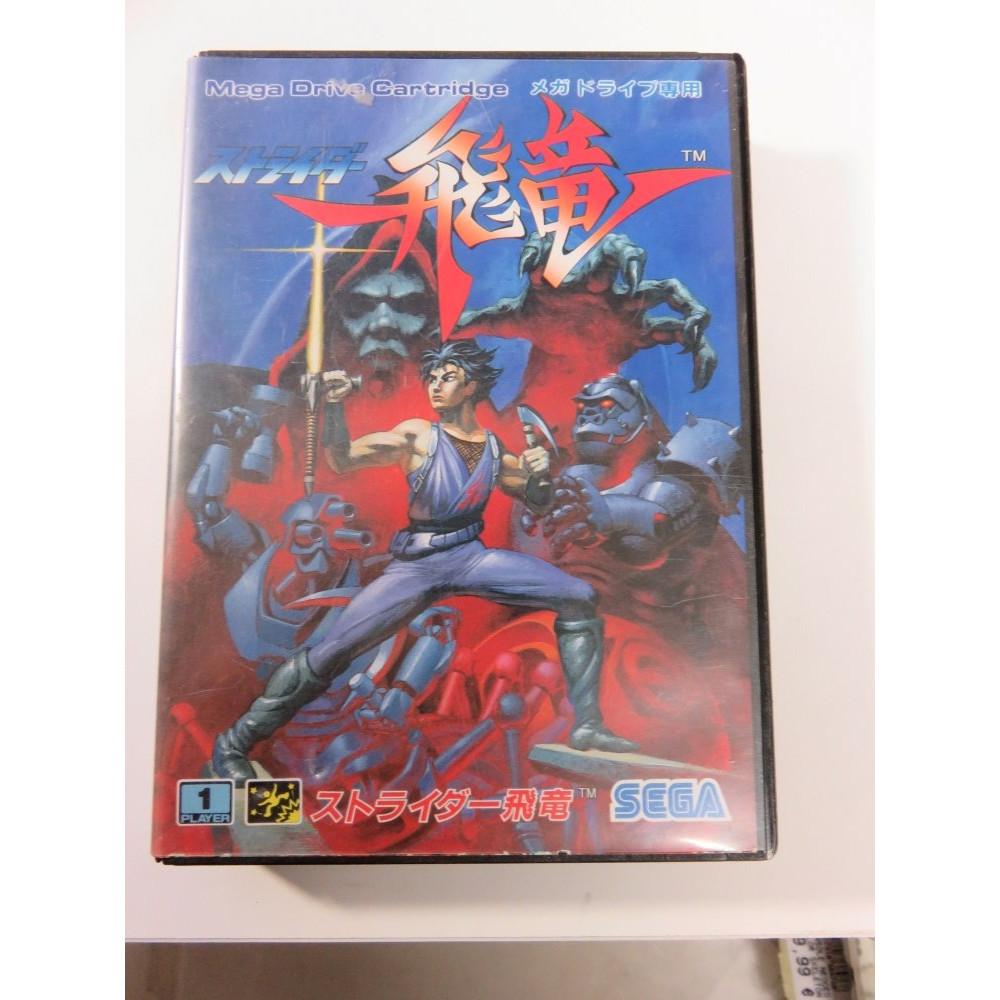 STRIDER HIRYU SEGA MEGADRIVE NTSC-JPN (COMPLETE) CAPCOM SEGA 1990