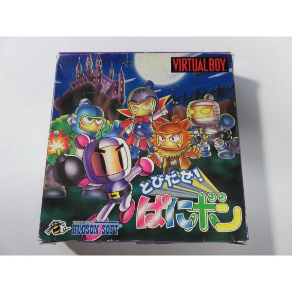 TOBIDASE PANIC BOMBER VIRTUAL BOY NTSC-JPN (PUZZLE) - (COMPLETE )