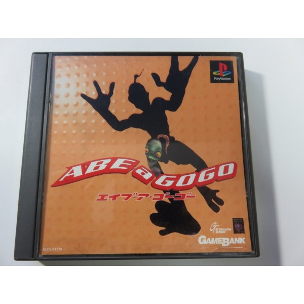 ABE A GOGO PLAYSTATION 1 NTSC-JPN (COMPLETE-VERY GOOD CONDITION) GT INTERACTIVE 1997