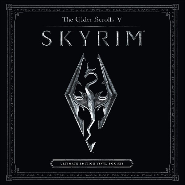 VINYLE THE ELDER SCROLLS V SKYRIM ULTIMATE EDITION VINYL BOX SET NEW