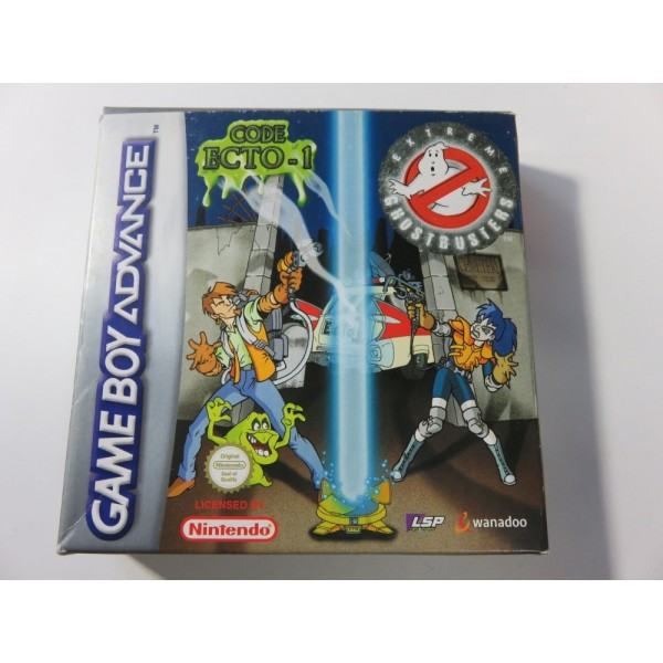 EXTREME GHOSTBUSTERS CODE ECTO-1 PAL-EUR (COMPLETE-GOOD CONDITION) MAGIC POCKETS 2002
