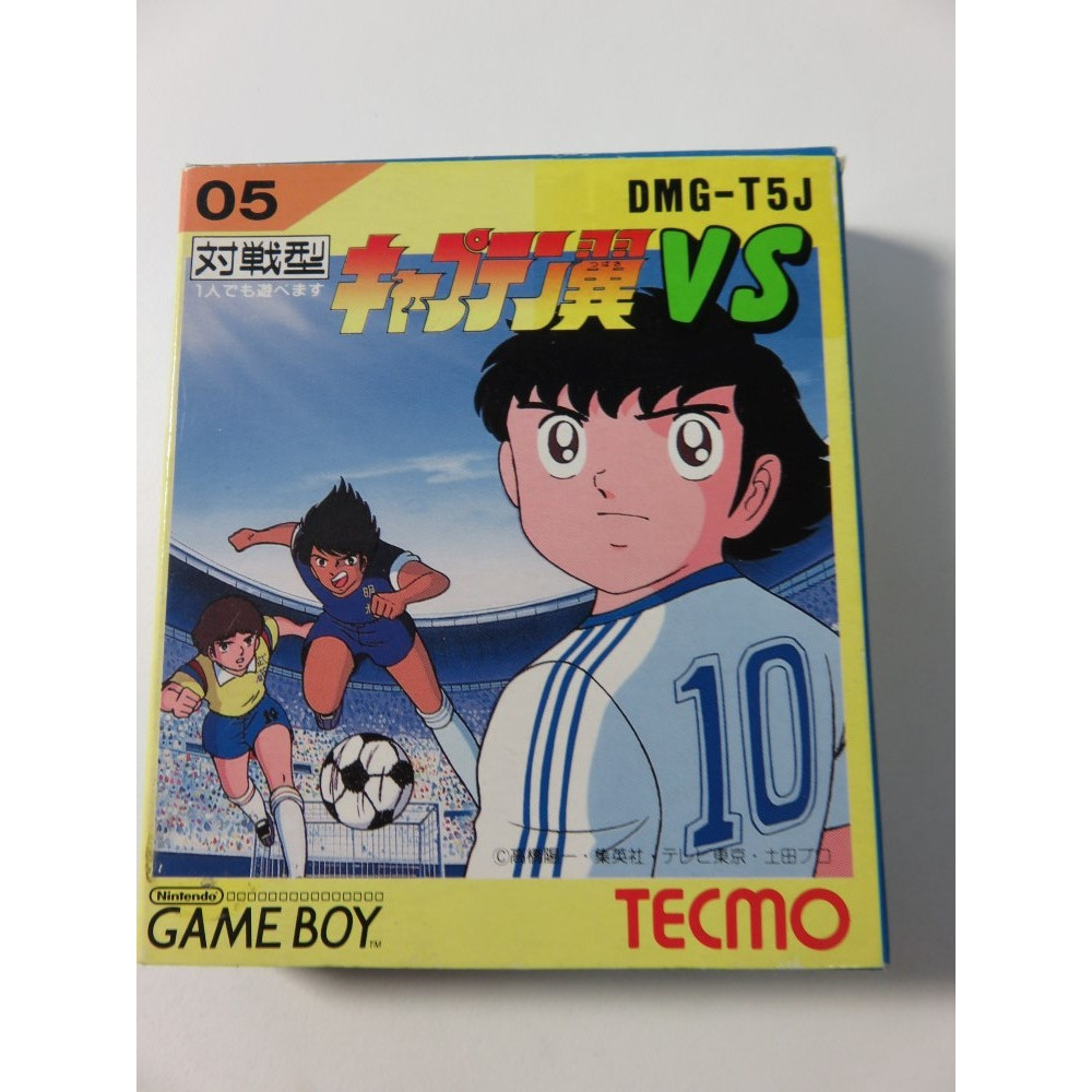 CAPTAIN TSUBASA VS GAMEBOY NTSC-JPN (COMPLETE-GOOD CONDITION) TECMO 1992