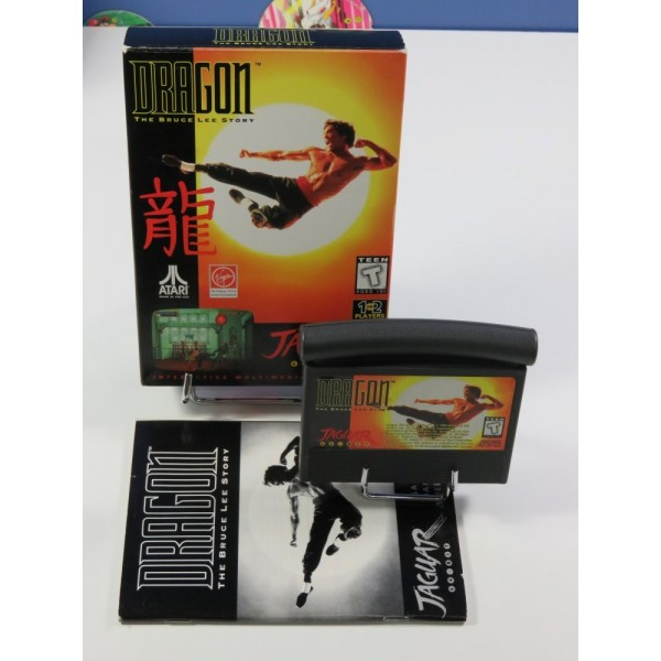 DRAGON - THE BRUCE LEE STORY ATARI JAGUAR PAL-EURO (COMPLET - GOOD CONDITION)