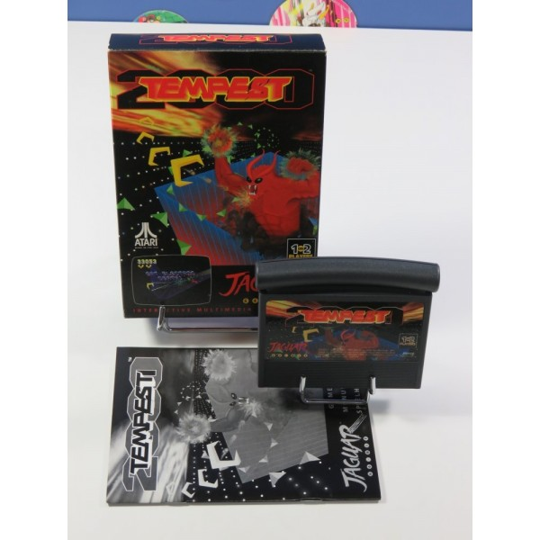 TEMPEST 2000 ATARI JAGUAR PAL-EURO (COMPLET - EXCELLENT CONDITION)