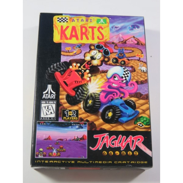 ATARI KARTS ATARI JAGUAR PAL-EURO (COMPLET - EXCELLENT CONDITION)