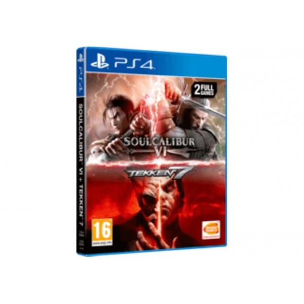 SOULCALIBUR VI + TEKKEN 7 PS4 UK OCCASION