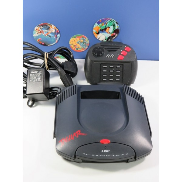 CONSOLE ATARI JAGUAR PAL-EURO (SANS BOITE - SANS NOTICE - GOOD CONDITION) (SERIAL: K14B011753)
