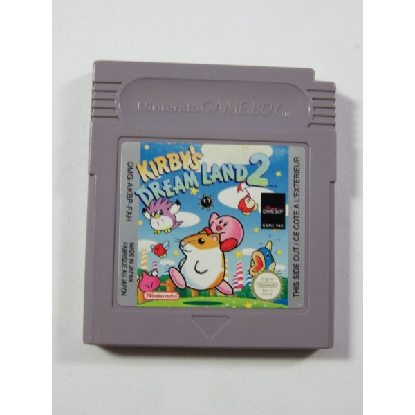 KIRBY S DREAM LAND 2 - HOSHI NO KIRBY 2 NINTENDO GAMEBOY FAH (LOOSE - GOOD CONDITION)