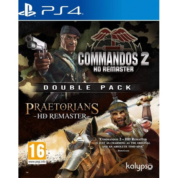 COMMANDOS 2 & PRAETORIANS HD REMASTERED DOUBLE PACK PS4 EURO FR NEW