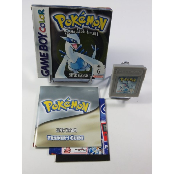 POKEMON SILVER VERSION - POCKET MONSTERS NINTENDO GAMEBOY COLOR AUS (COMPLET - GOOD CONDITION) (VERSION AUSTRALIENNE)