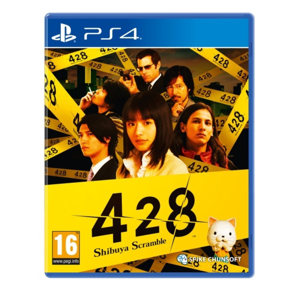 428 SHIBUYA SCAMBLE PS4 FR OCCASION