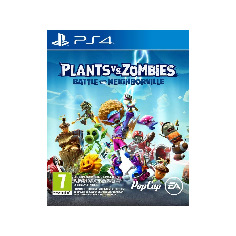 PLANTS VS ZOMBIES BATTLE FOR NEIGHBORVILLE PS4 FR OCCASION