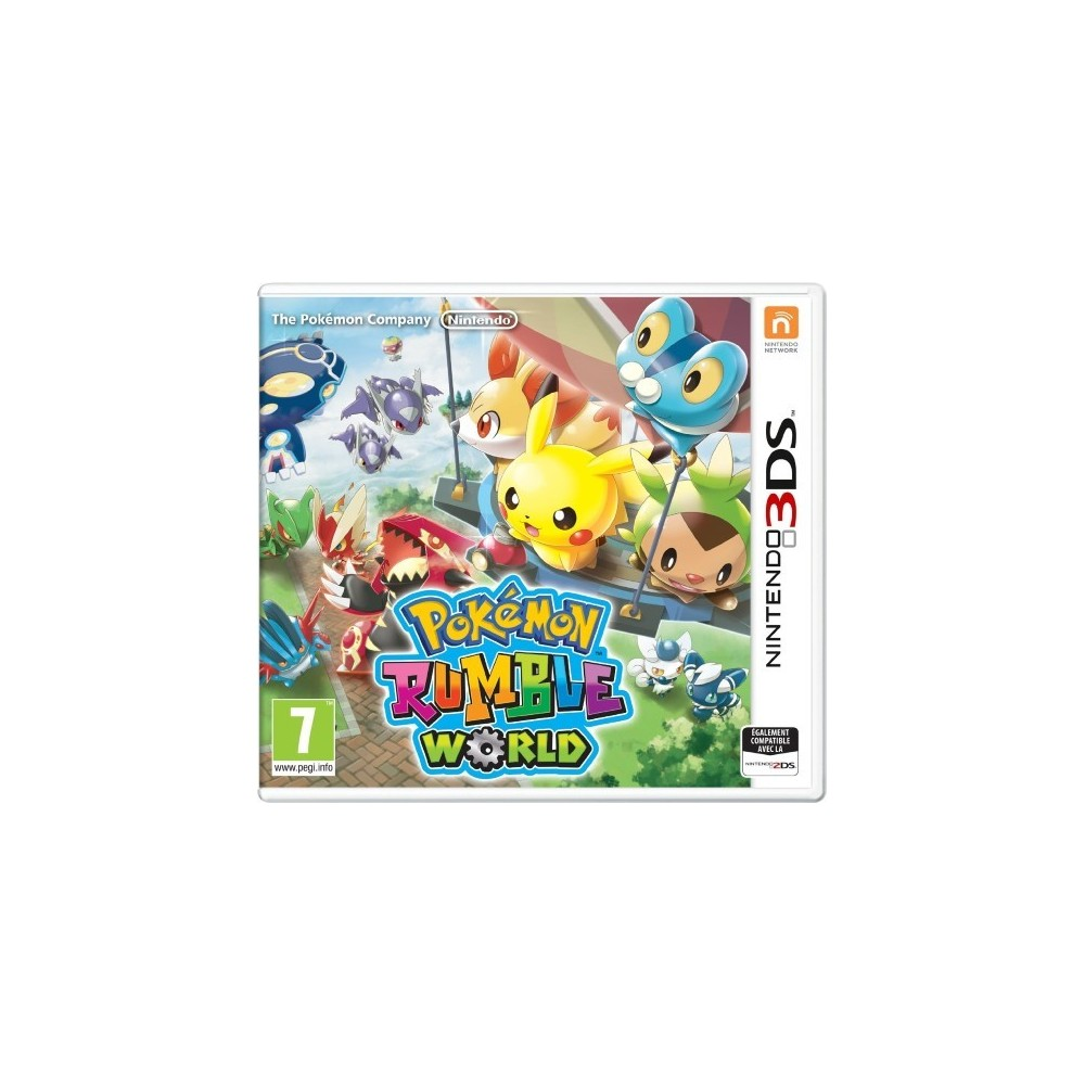 POKEMON RUMBLE WORLD 3DS PAL-FR OCCASION